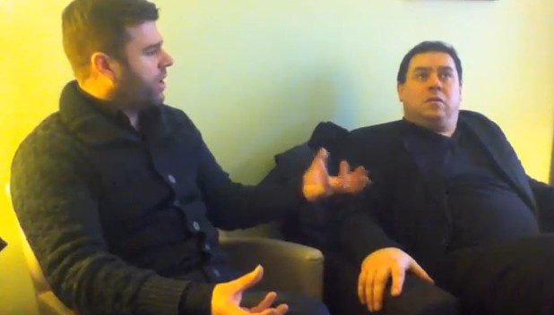 Videointervju med Paul O'Neill og Mick Wilson