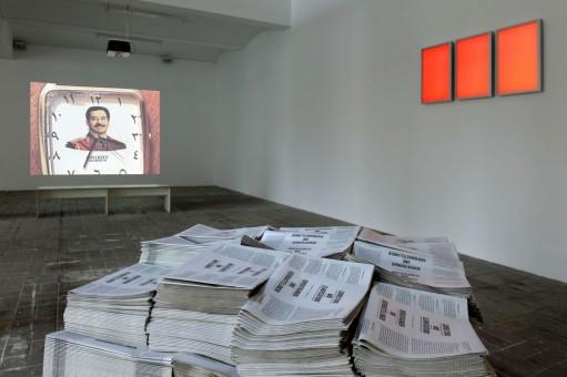 The transparent exhibition