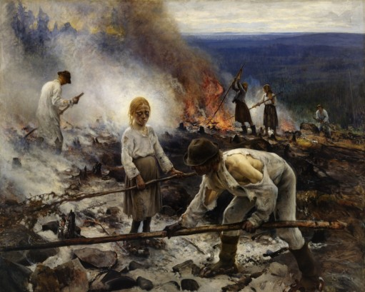 Challenging the Finns
