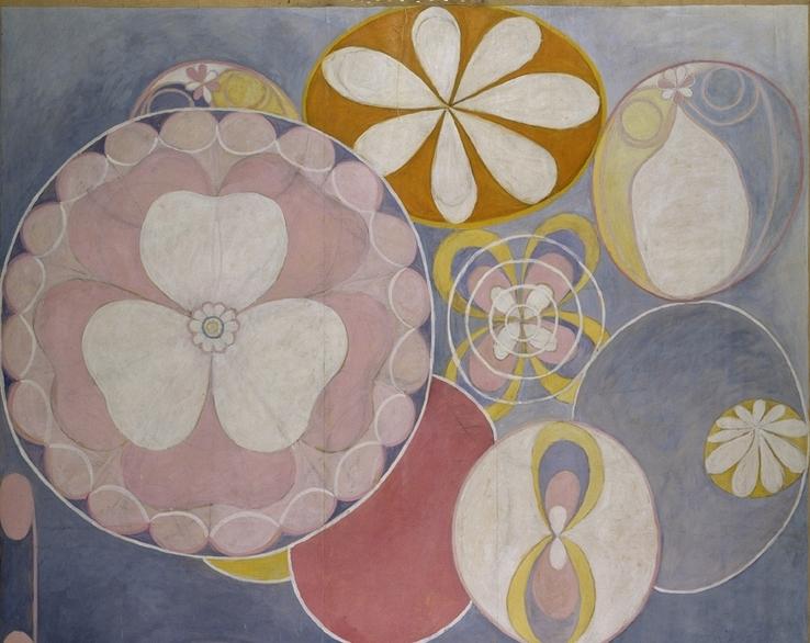 Hilma af Klint Sveriges bidrag till Venedigbiennalen