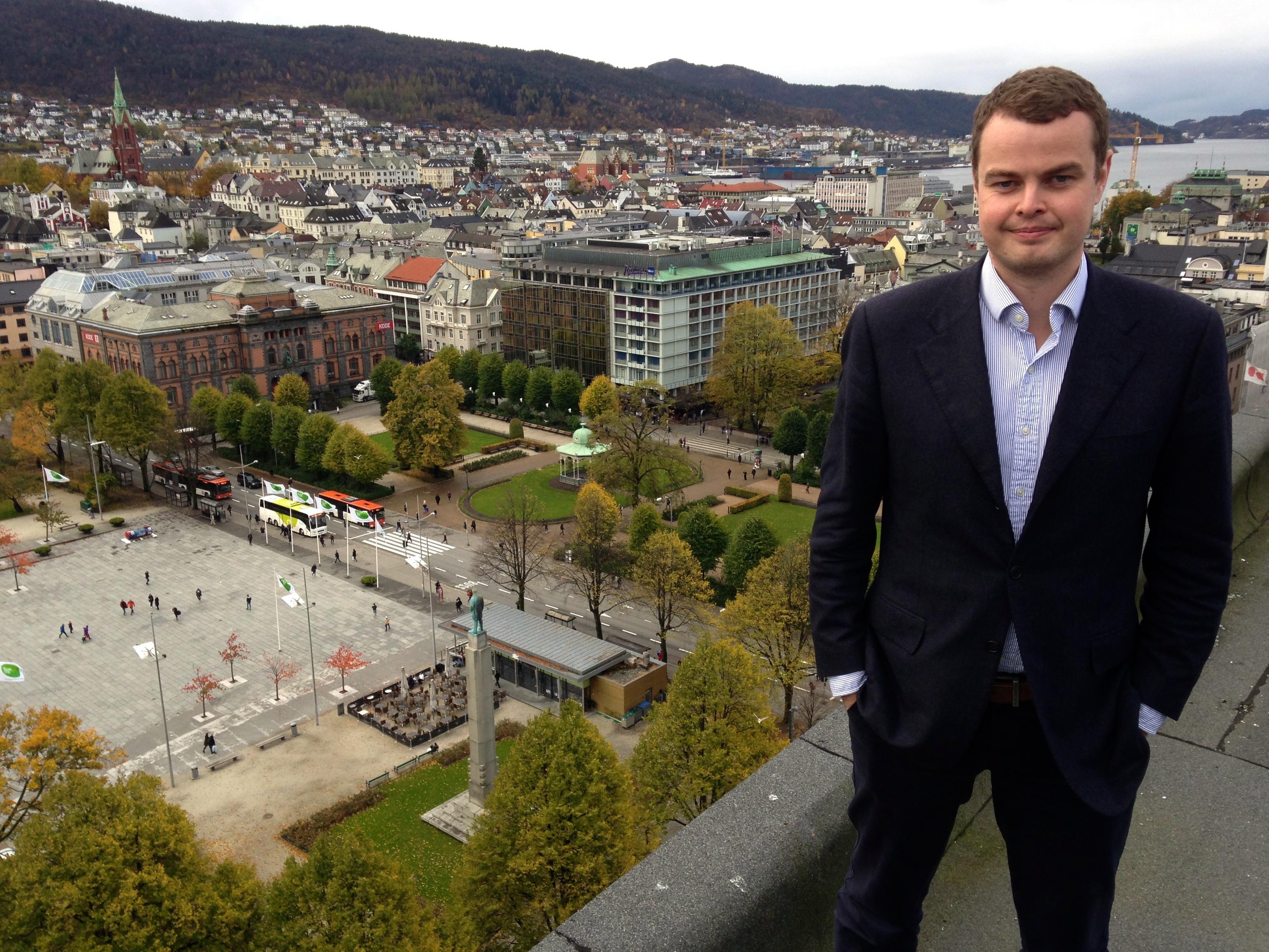 Haakon Thuestad direktør for Bergen Assembly