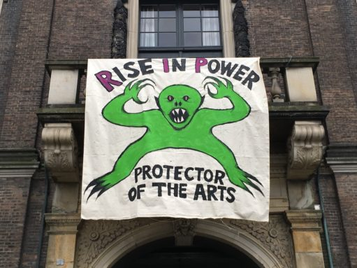Fjorten dage der rystede dansk kunstliv