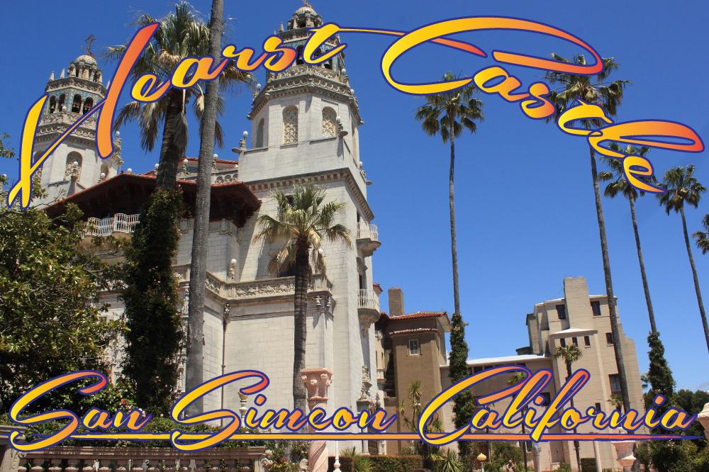 Postkort fra San Simeon