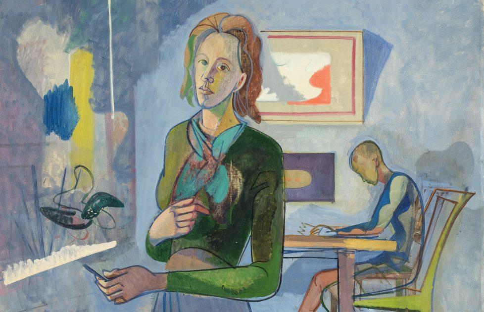 Greta Knutson-Tzara, Resistance Painter