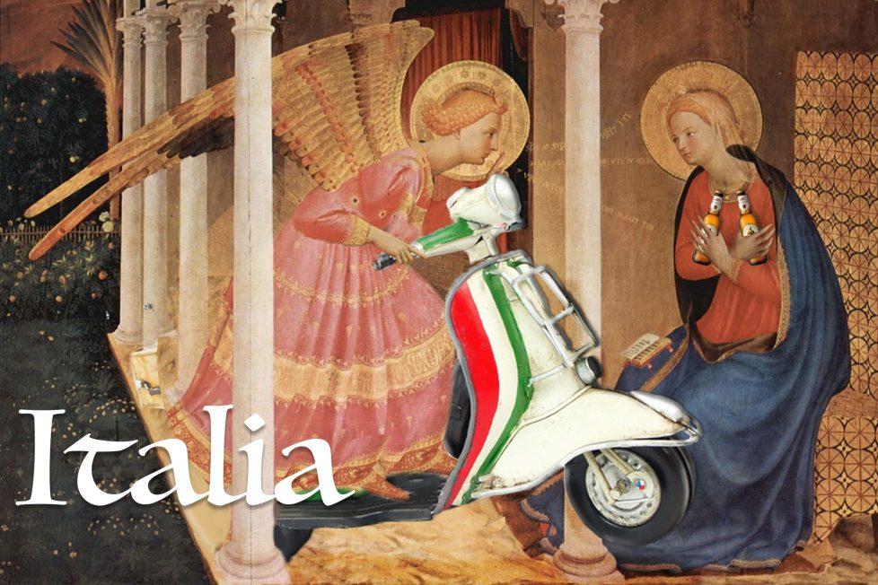 Postkort fra Cortona