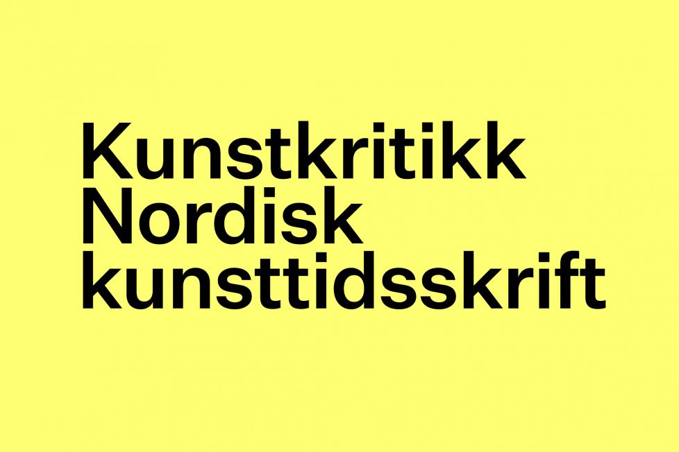 Kunstkritikk søker norsk redaktør